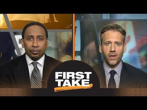 First Take debates LeBron James vs. Anthony Davis as best in NBA playoffs | First Take | ESPN
