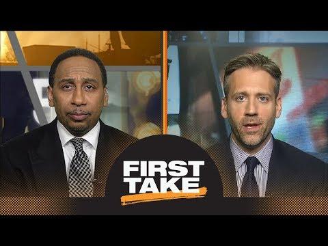 First Take debates LeBron James vs. Anthony Davis as best in NBA playoffs  First Take  ESPN