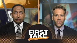 First Take debates LeBron James vs. Anthony Davis as best in NBA playoffs | First Take | ESPN