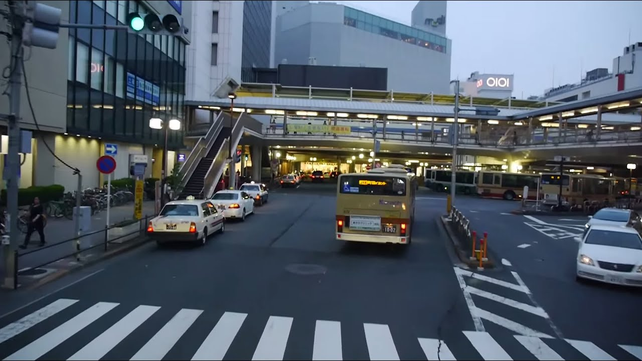 60fps】西日本JRバス 横浜昼特急...