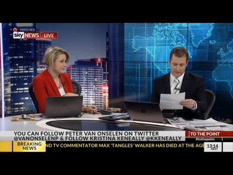 Peter van Onselen gets fined for not voting & admits not voting for his co-host