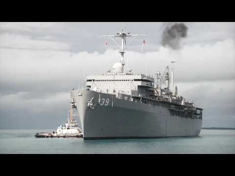 Television News DGA USS Emory S  Land MCSN Allen