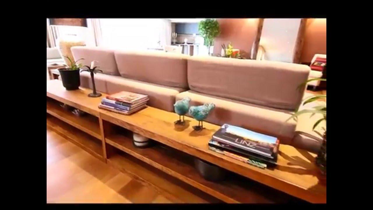 Movel rustico Movel de apoio lateral para sofa banqueta e