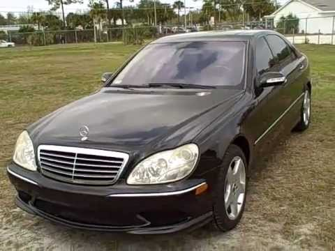 2003 mercedes s500 loaded near gainesville fl call for Mercedes benz s500 2003