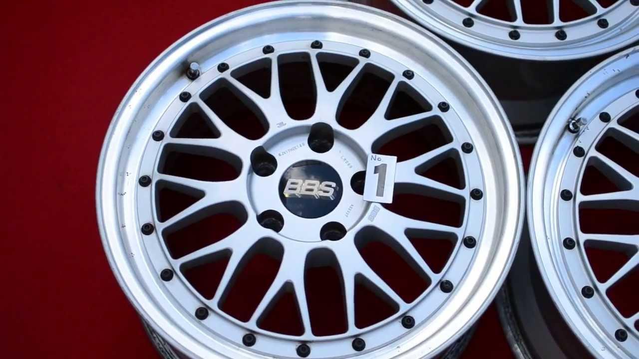 Bbs Lm Lm089 Original 2 Piece Wheels Bmw E46 E36 17 Quot Inch