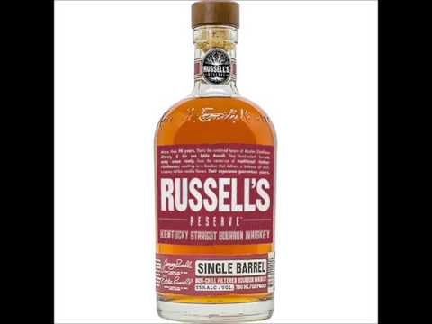 Audio Podcast Ep 145 Russell's Reserve Single Barrel Straight Kentucky Bourbon