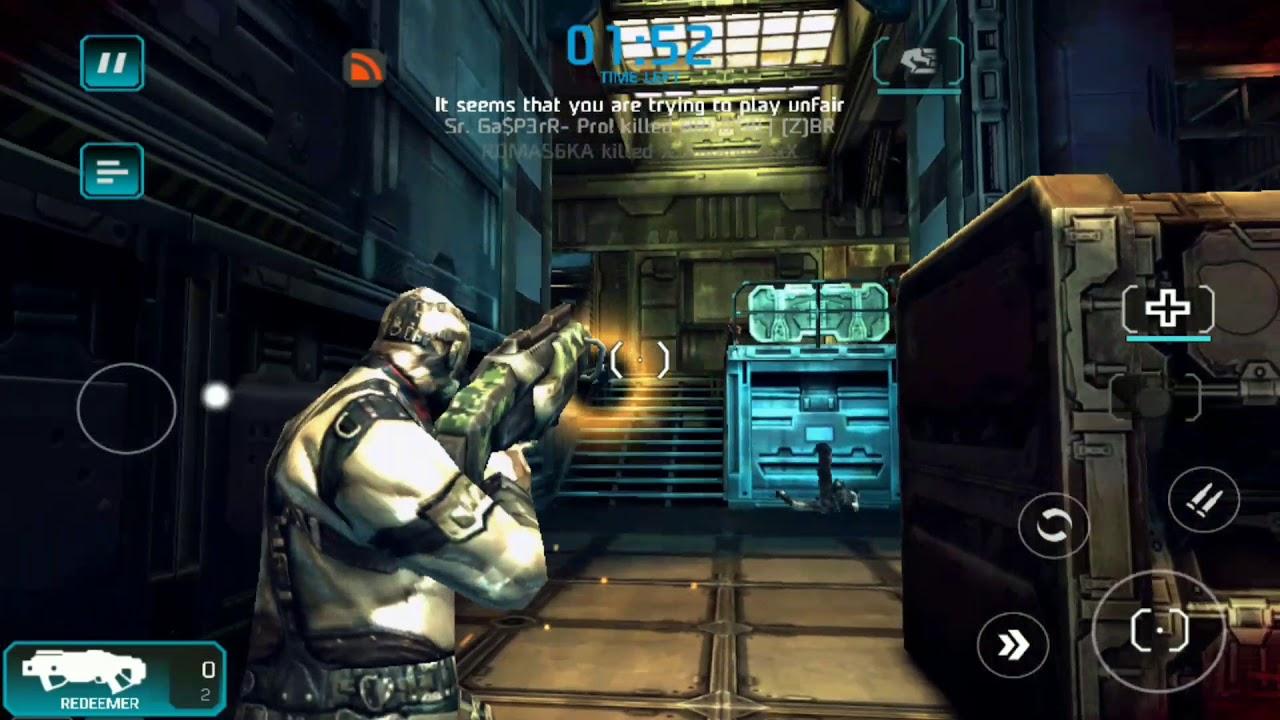 není připojen k deadmone serveru shadowgun shadowgun