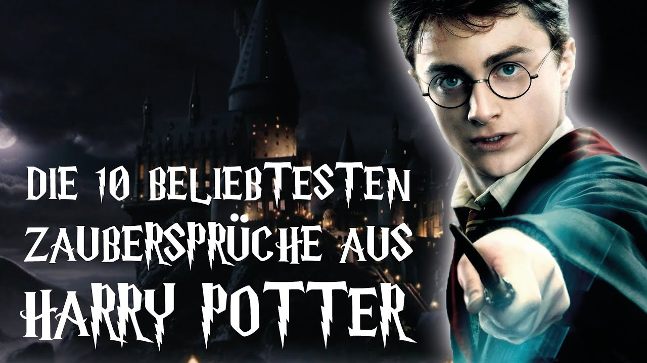 die 10 beliebtesten zauberspr che aus harry potter youtube. Black Bedroom Furniture Sets. Home Design Ideas
