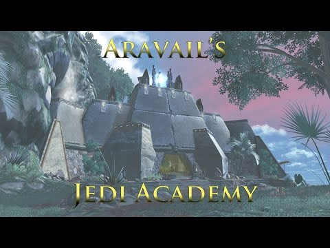 Aravail's Jedi Academy - Yavin IV Temple Stronghold Tour