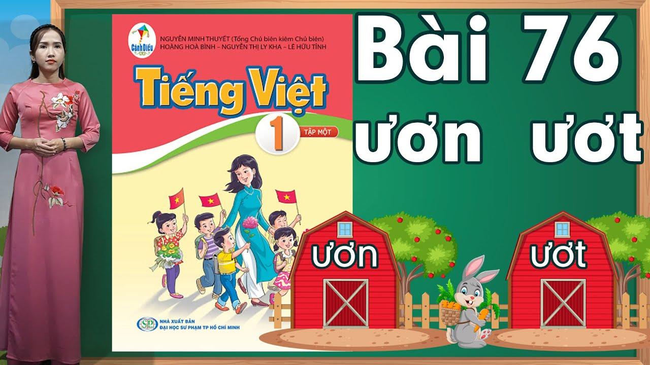 Tiếng việt lớp 1 sách cánh diều - Bài 76|Bảng chữ cái tiếng việt |learn vietnamese