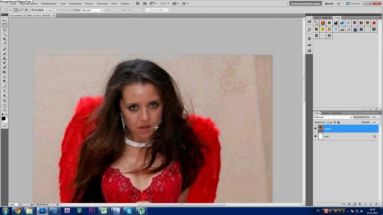 Урок Photoshop. 752 канал (Урок #13 Как сделать девчонку красивее в фотошопе?) (#ЕвгенийКулик)