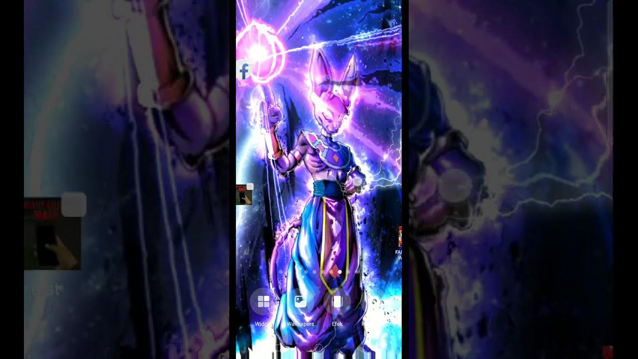 Beerus Ultra Instinct Live Wallpaper Android Dragonball Super