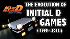 The Evolution of Initial D Video Games (1998-2018)