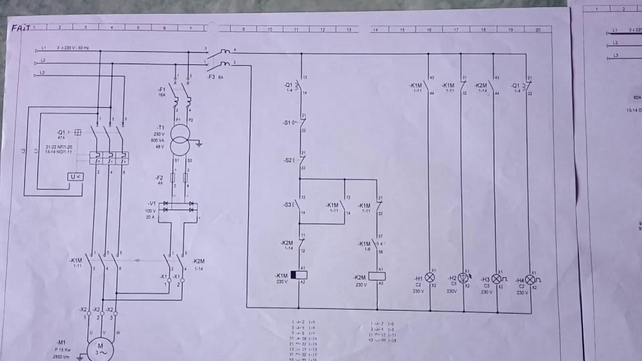 Schémas électrique Industriel 15