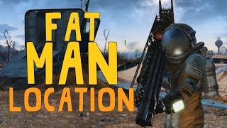 Fallout 4: Unique/Rare Weapons - Fatman! (Location)