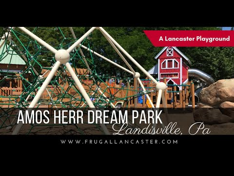 Amos Herr Dream Park in Lancaster County {FREE Family Fun with zip line!}
