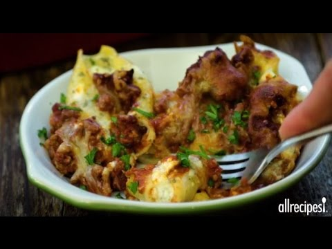 How to Make Lasagna Stuffed Shells | Main Dish Recipes | Allrecipes.com
