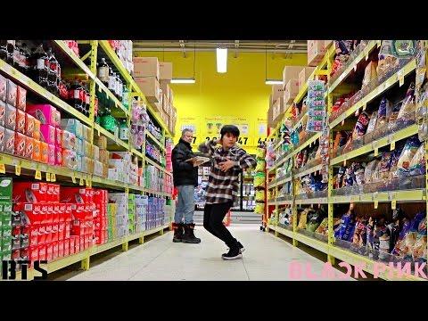 BTS vs BLACKPINK IN PUBLIC- KPOP dance switch CHALLENGE