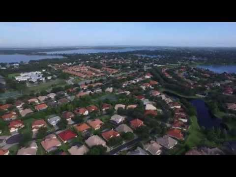 DJI Inspire 1 Drone at Dr Phillips / Orlando, Florida - Afternoon 4k