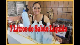 SABÃO LIQUIDO CASEIRO   SUPER FÁCIL DE FAZER