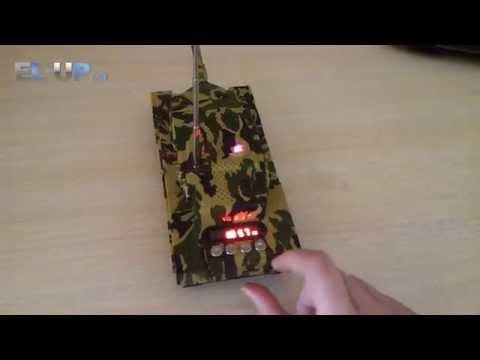 Колонка MP3 плеер в форме танка Т-21