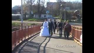 Свадьба в Воскресенске.На край земли пойду за тобой