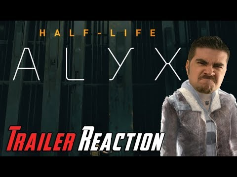 Half-Life: Alyx – Angry Trailer Reaction!