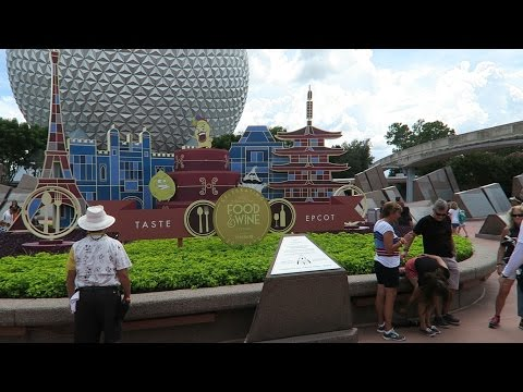 Food & Wine Festival 2015 At Disney's Epcot:  A Very Busy Opening Day!!!