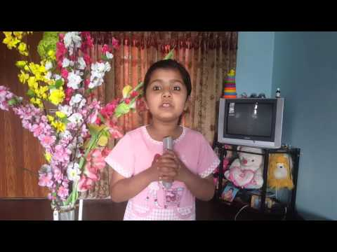 my bebo Anushka singing English songs