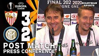 Sevilla 3-2 Inter Milan - Julen Lopetegui & Luuk de Jong UEL Winning Post Match Press Conference