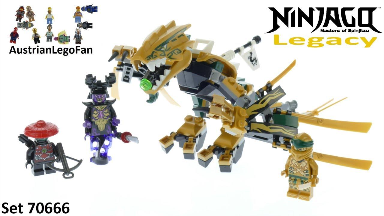 Lego Ninjago The Golden Dragon 70666 Season 2 Parts Only