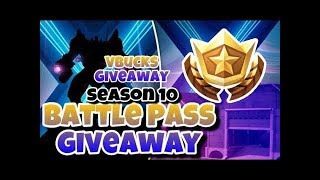 Vbucks Giveaway At Sub Goal - Playing With Subscribers LIvestream Fortnite Livestream