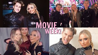 You won't believe who came to watch us ON STRICTLY MOVIE WEEK!! 😱