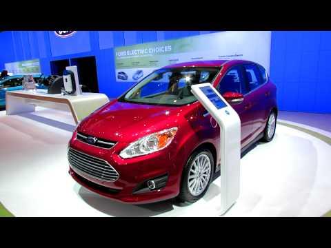 2013 Ford C-Max Exterior At 2012 Toronto Auto Show - Canadian International AutoShow CIA