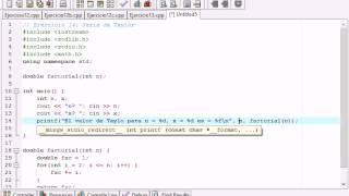 Ejercicio14 (C++) - SERIE DE TAYLOR