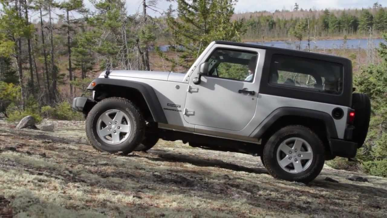 road review with tim plouff jeep wrangler sport funnycat tv. Black Bedroom Furniture Sets. Home Design Ideas