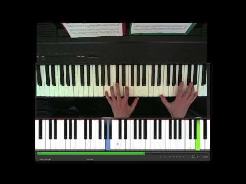 Wallflower, Agnes Obel, piano part