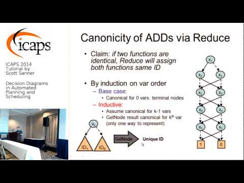 ICAPS 2014: Tutorial by Scott Sanner on Decision Diagrams in Automated Planning and Scheduling
