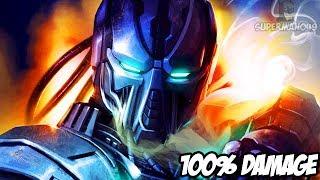 100% Damage Vortex With Smoke! - Mortal Kombat X: Hype & Salt Of Super #7 & 8