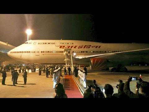 Indian PM arrives in Mozambique on first leg of African tour