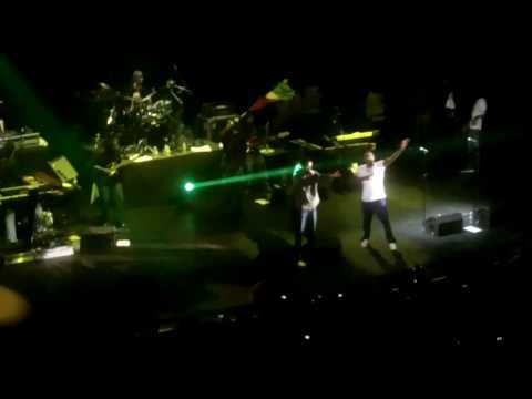 Nas and Damian Marley - Count Your Blessings (live in London