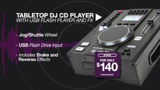 Monoprice DJ Equipment - Key Features