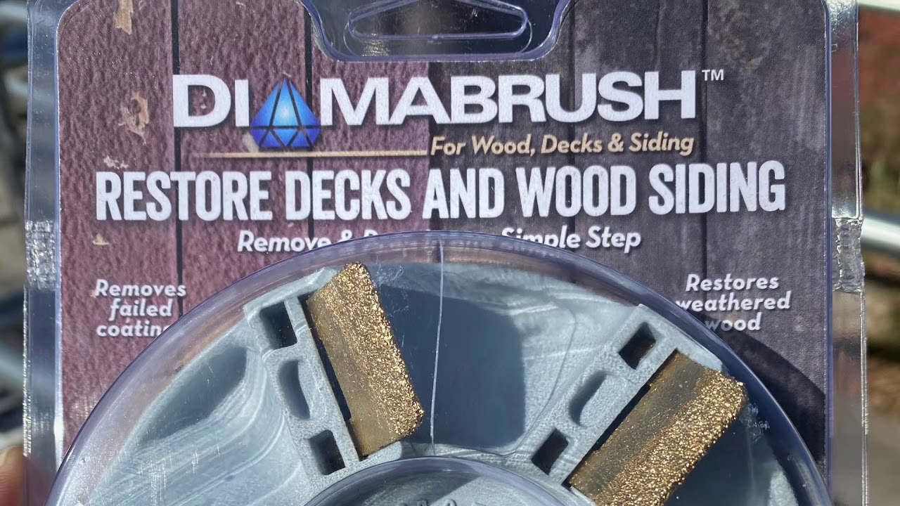 "Diamabrush 4 1/2"" tool head"