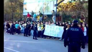 Escola Secundaria Garcia de Orta , Greve dos alunos 14/11/08
