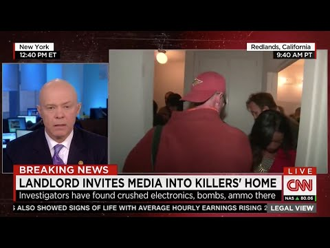 Law Enforcement Analyst Dumbfounded as Media Rummages Through House of Suspected Terrorists