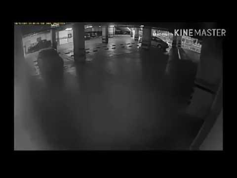 SERAM- Hantu Cuba Menghidupkan Enjin Dan Bergerak Sendiri Di Lot Parking