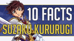 10 Facts About Suzaku Kururugi You Probably Didn't Know | Code Geass Anime Trivia