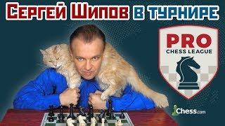Сергей Шипов 🎤 в блиц турнире ⚡️ Pro Chess League ♕ Шахматы