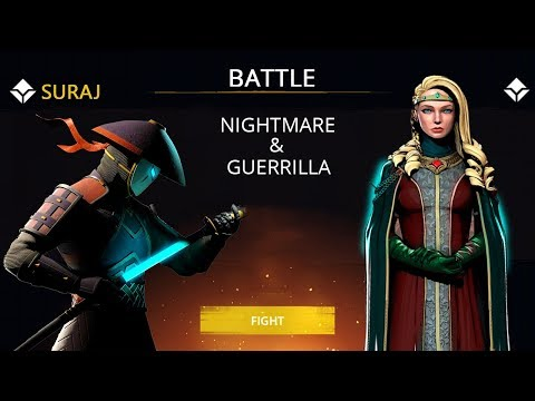 Shadow Fight 3 Official Battle NIGHTMARE & GUERRILLA