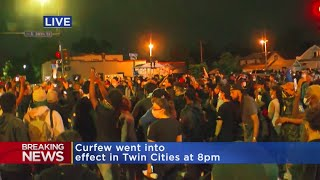 Protesters Converge After Curfew At Cup Foods Vigil
